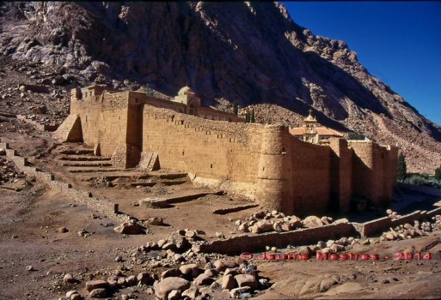 Monestir de Santa Caterina. Península del Sinaí